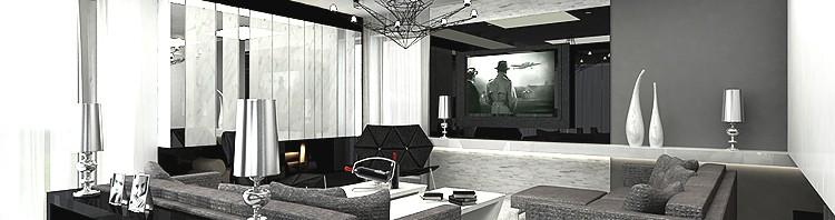 wnętrze nowoczesnego salonu