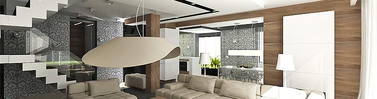 projekty wnętrza domów