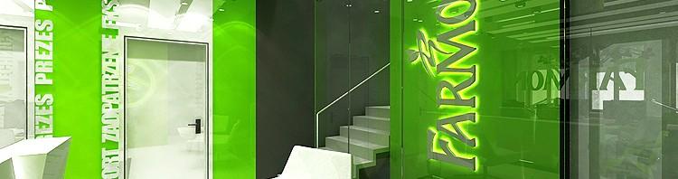 designerskie wnętrze biurowca